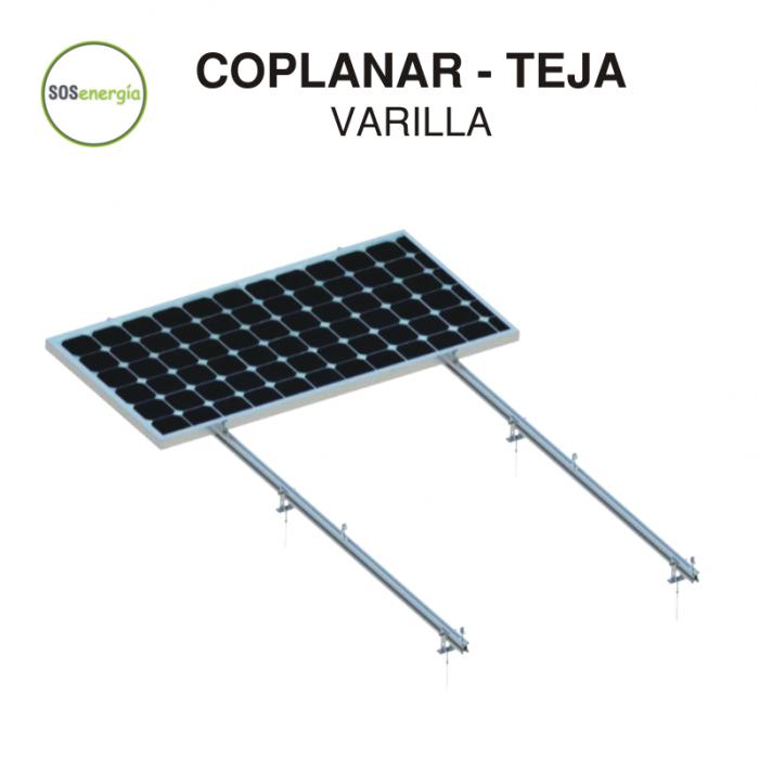 SOSenergía - Coplanar - Teja - 1 panel