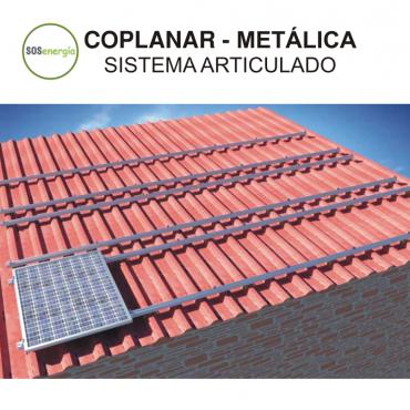 SOSenergía - Coplanar - Metalica - Articulado