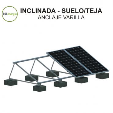 SOSenergía - Inclinada - teja/suelo/plana