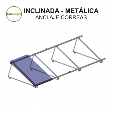 SOSenergía - Inclinada - metalica