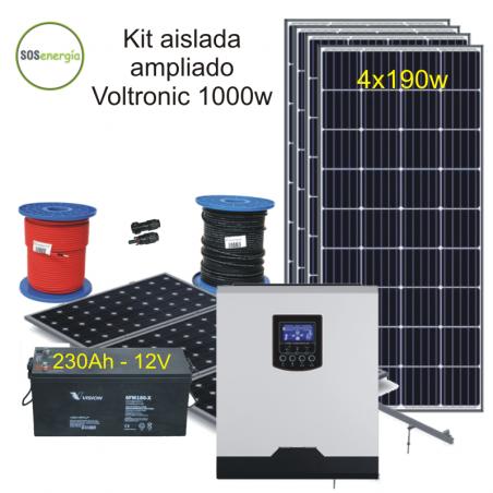 SOSenergia - Kit Aislada 1000w - FD1-A