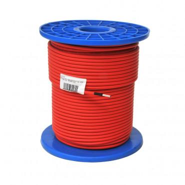 Cable solar 6 mm. rojo