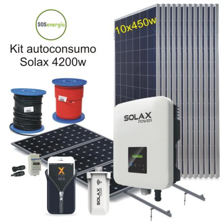 SOSenergía - Kit 4200w Solax