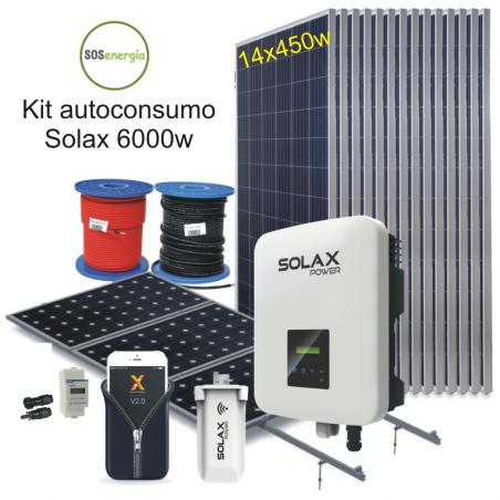 SOSenergía - Kit 5000w Solax