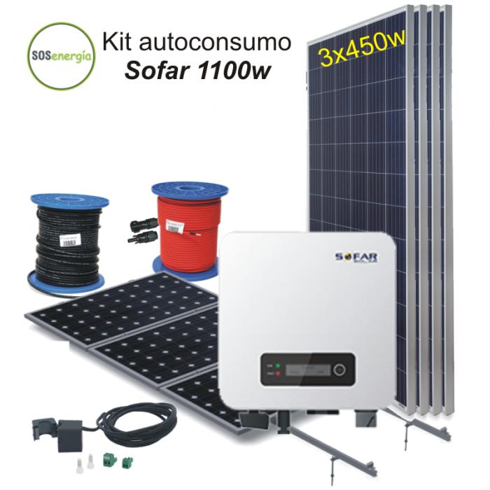 SOSenergía - Kit Sofar 1100w