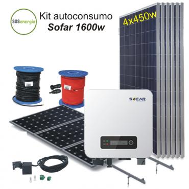 SOSenergia - Kit Sofar 1600w