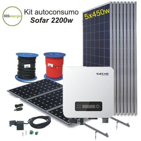 SOSenergia - Kit Sofar 2200w