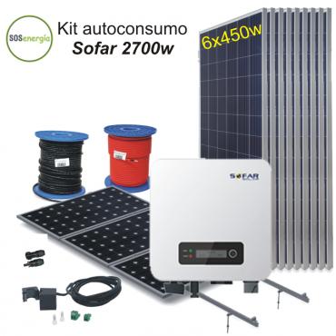 SOSenergia - Kit Sofar 2700w
