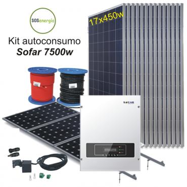 SOSenergia - Kit Sofar 7500w