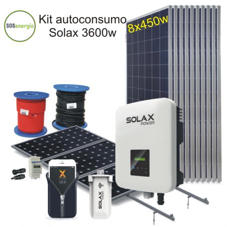 SOSenergía - Kit 3600 Solax