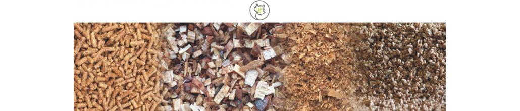 Biocombustibles - Pellets, hueso y cáscara